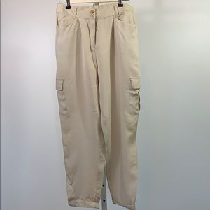 CHICO'S Tapered Utility Ankle Pants SZ (10-M)